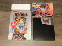 Castlevania III 3 Dracula's Curse Nintendo Nes Complete CIB Authentic
