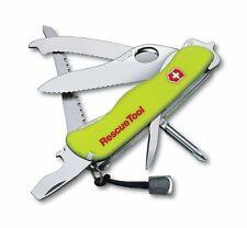 Victorinox Rescuetool Einhand  0.8623.MWN leuchtend Holster Rettungsmesser