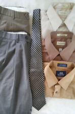 Lot 3 Shirts 2 Pants Tie Dress/Casual Outfits Ready to Wear! 6 Piece Lot
