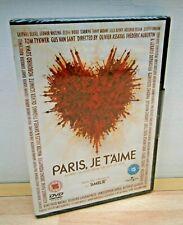 BRAND NEW / Sealed -  PARIS, JE T'AIME dvd [2006]  Juliette BINOCHE Willem DAFOE