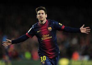 Lionel Messi Poster A5 A4 A3 A2