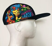 Vintage 90's Hat 96 Monterey Jazz Hat Cap Cycling Inspired
