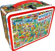 Where's Waldo Lunch Box Wally Book Food Meal Fun Gift