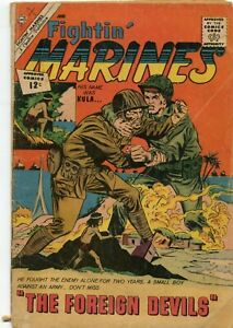 FIGHTIN' MARINES  # 47   CHARLTON COMICS