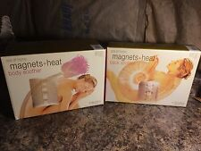 1999 Soluna Spa at Home ~ Magnets & Heats ~ Body Soother & Back Soother (New)