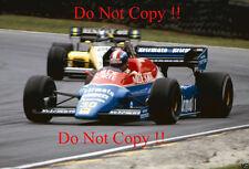Jo Gartner Osella FA1F British Grand Prix 1984 Photograph 4