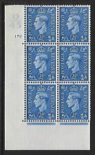2½d Pale Blue Cylinder Control Q45 172 No Dot perf 5A(AE/I) UNMOUNTED MINT/MNH