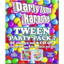 Party Tyme Karaoke Tween Mega Pack Vol. 2 32 Songs Karaoke (CD Sep-2015)