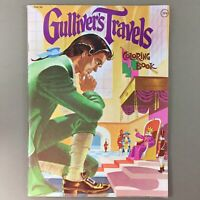 Gulliver's Travels vintage coloring book unused Playmore Inc C64-26
