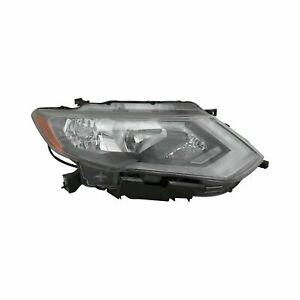 For Nissan Rogue 2017-2019 RH Passenger Side Replacement Headlight halogen NEW