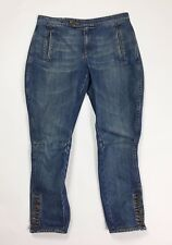 Dondup jeans donna W28 tg 42 usato relaxed comodo usato denim boyfriend T2888