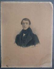 Jean Antoine Petit Senn. Escritor Suiza. Retrato litografía. 1837