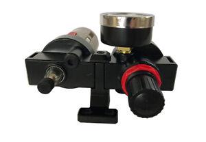 Combo Air System Accessories 1/2in NPT Air Line Piggyback Regulator/Filter