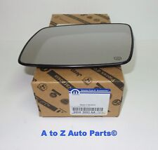 NEW 2009-2018 Dodge Journey (LH) DRIVER Side Heated Mirror Glass, OEM