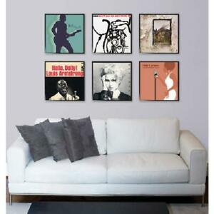 Record Album or Scrapbook Picture Frame, Set of 6, Create Gallery Wall 12.5x12.5
