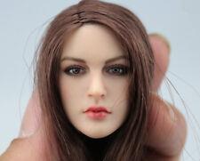 USA KIMI TOYS 1/6th Girl Head Sculpt Best Match Phicen Suntan Body Model KT005