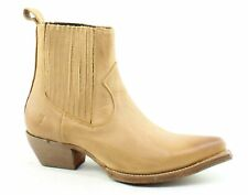Frye Womens Sacha Tan Chelsea Boots Size 6.5 (1481093)