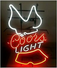 "New Coors Light Bikini Girl Beer Bar Pub Man Cave Neon Light Sign 20""x16"""