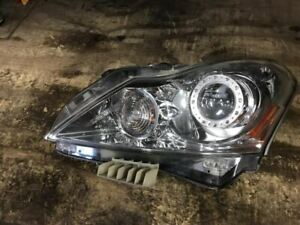 10 - 13 INFINITI G37 Driver Side Headlight Assembly E335934