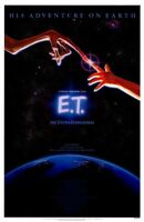 """E.T. Movie Poster [Licensed-NEW-USA] 27x40"""" Theater Size (1982) Spielberg [ALT2]"""