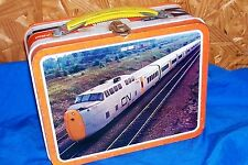 Old Lunchbox CP CN Canadian Rail Vintage Metal Railway Train Railroad RR Kids 70