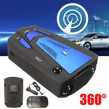 360° Car Trucker Speed V7 GPS Radar Detector 16 Band Camera Voice Alert Warning