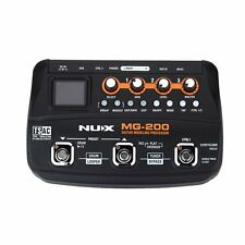 NUX MG-200 Guitar Modeling Processor Multi-effect Processor with 55 Effect Model