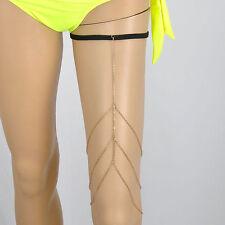 Celebrity New Charms Women Thigh Leg Chain Body Bikini Beach Harness Body Chain