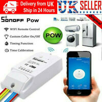 Sonoff Pow R2 16A WiFi Wireless Smart Swtich Module Pow Consumption Measurement、
