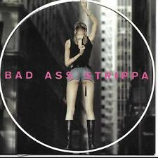 Jentina Bad Ass Strippa With promo release label on back of Card sleeve UK CD