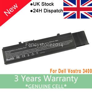 For DELL VOSTRO 3400 3500 3700 6-CELL 58WH BATTERY 7FJ92 TXWRR 0TXWRR F