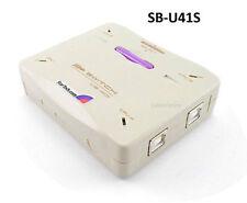 4-Port Compact USB B (Printer, Scanner, Modem, etc) Manual 4 to 1 Data Switch