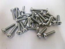 Pack of 50 M4 x 16mm Pan Head Pozi Machine Screws Zinc Plated Bolt #8B114
