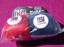 NEW YORK GIANTS NFL FOOTBALL SPORTS TEAM FUZZY DICE