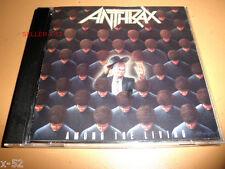 ANTHRAX cd AMONG THE LIVING I am the Law EFILNIKUFESIN nfl Imitation of Life
