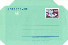 United Nations 1982 S9 Peace Dove Airletter Mint / Unused Vienna