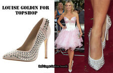Louise Goldin TOPSHOP Embelli Spikes chaussures UK 5 EUR 38 US 7 Entièrement neuf dans sa boîte Celebrity