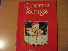 Christmas Songs: For Easy Piano and Vocal Mixed media product Book The Cheap