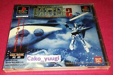 GUNDAM THE BATTLE MASTER 2 NEUF NEW PSONE  PSX NTSC/J TK10 SLPS-01286