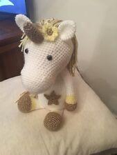 Handmade Crochet Amigurumi Unicorn