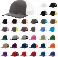 BULK ORDER 50 Richardson Trucker Snapback Caps 112 Baseball Hats WHOLESALE PRICE