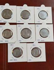 Lotto Di 8 Monete Vittorio Emanuele III Regno