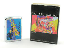 Zippo 1998 Richard Wallich Sax II Lighter (Brushed Chrome)