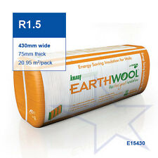 R1.5 | 430mm Knauf Earthwool® Wall Insulation Batts
