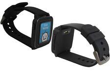 Skinomi Black Carbon Fiber Skin+Clear Screen Protector for Pebble Time
