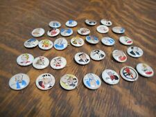 Vintage Kelloggs Metal Pep Buttons