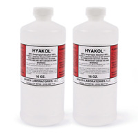 2 Bottles of HYAKOL 99% ISOPROPYL ALCOHOL Made in USA (2 x 16 oz.) Fast Shipping