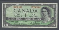 1954 (BC-29a) Bank of Canada One Dollar VF-25