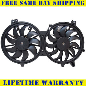 Radiator And Condenser Fan For Infiniti G37 Nissan 370Z IN3115108