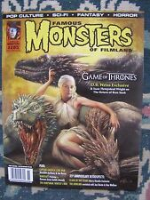 Famous Monsters 285 Uncirculated  Newstand cover by Wolfinger-Game of Thrones
